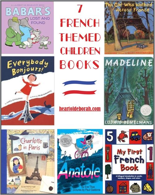 7 french books