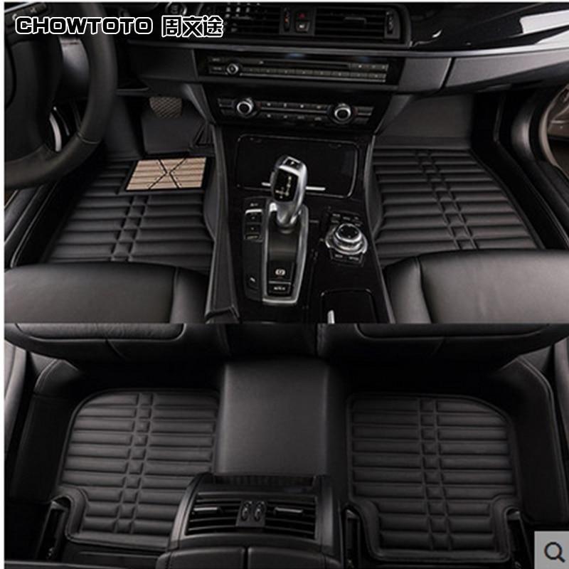Chowtoto Aa Custom Car Floor Mats For Audi A1 A3 A4 A5 A6 A7 A8