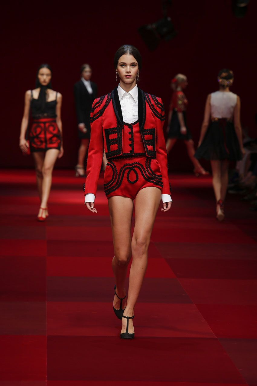 Dolce   Gabbana. Spanish inspiration. flamenco tunes and bullfighting all  compiled into one heart-pounding collection. cdd3dc0a16d