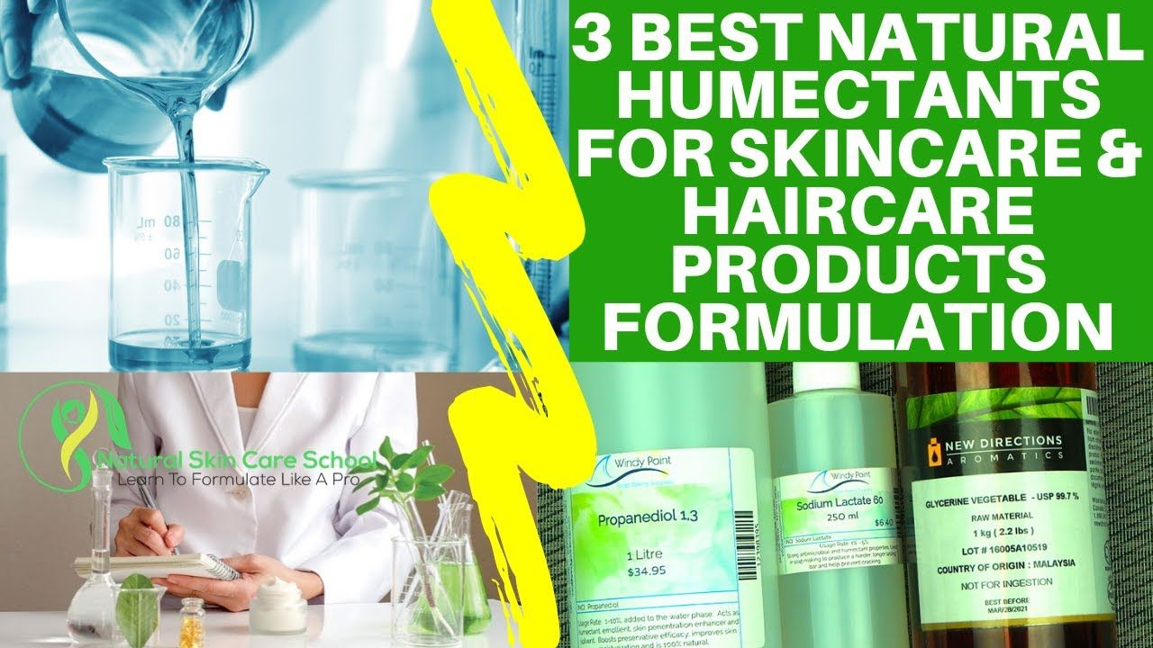 3 Best Natural Humectants For Making Skincare Haircare Products Natur In 2020 Hair Care Skin Care Natural Skin Care