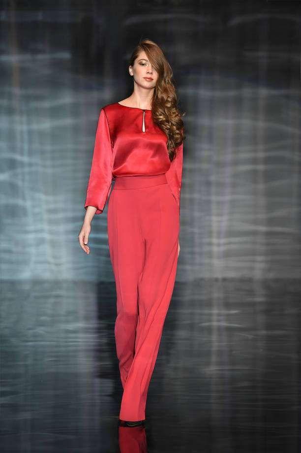 d2310fb063da Abiti da sposa Atelier Emé 2017 - Jumpsuit dress rosso Atelier Emé. Abiti  da cerimonia ...