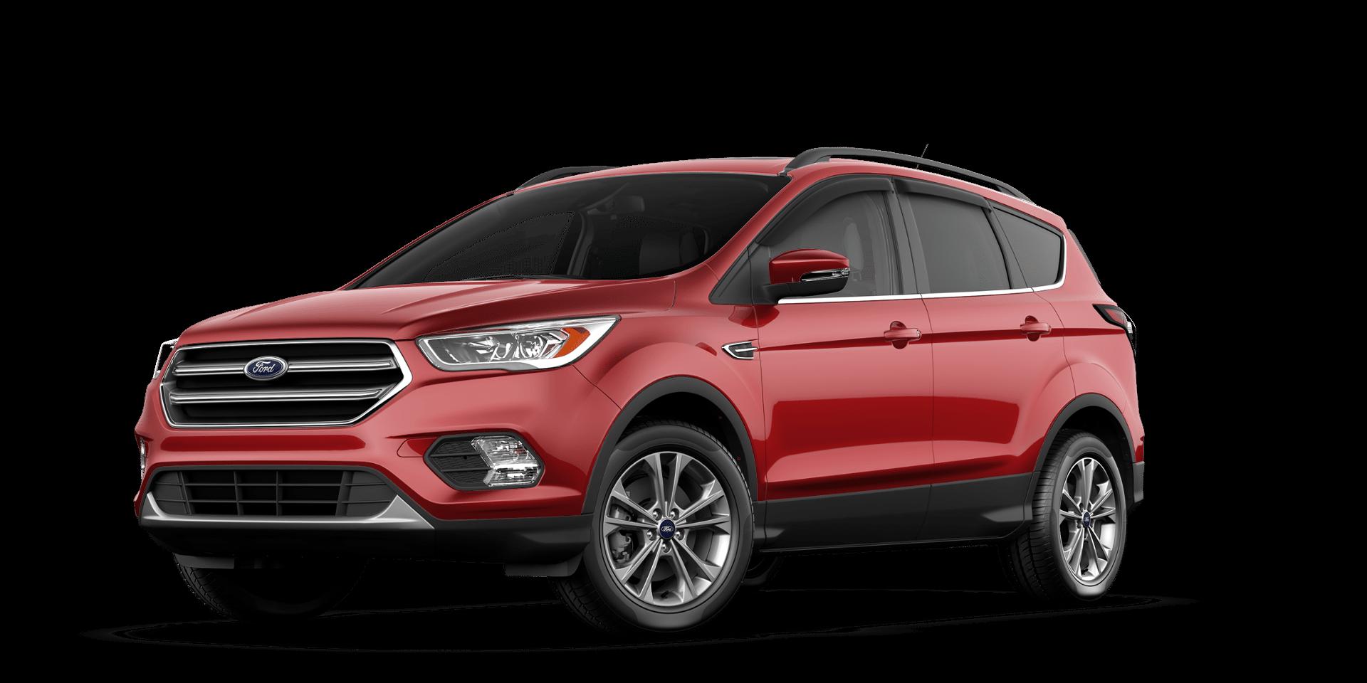 2017 ford escape build price