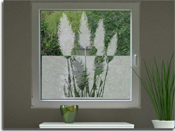 Sichtschutzfolie für Fenster u2013 23 praktische Vorschläge Wohnung - folie für badezimmerfenster