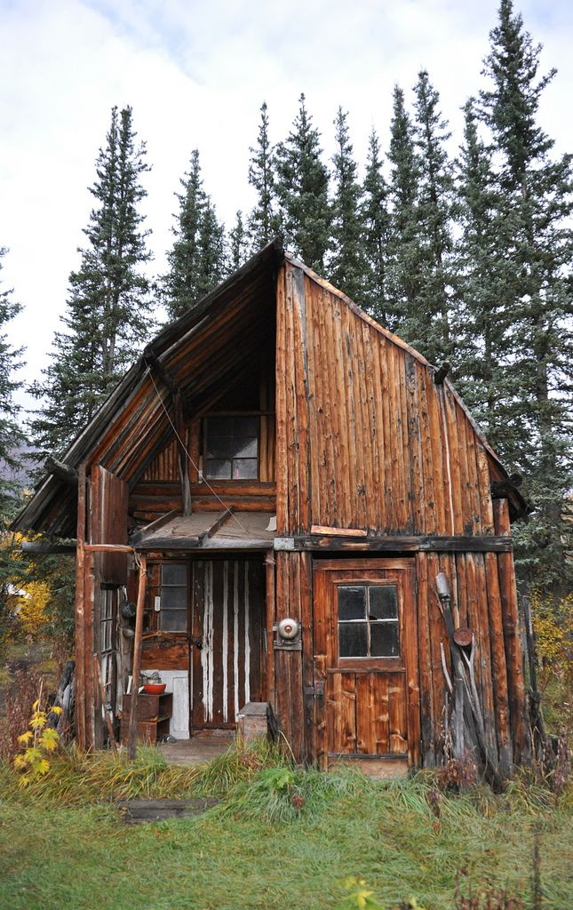 I would give it all up to live in this Cabin.
