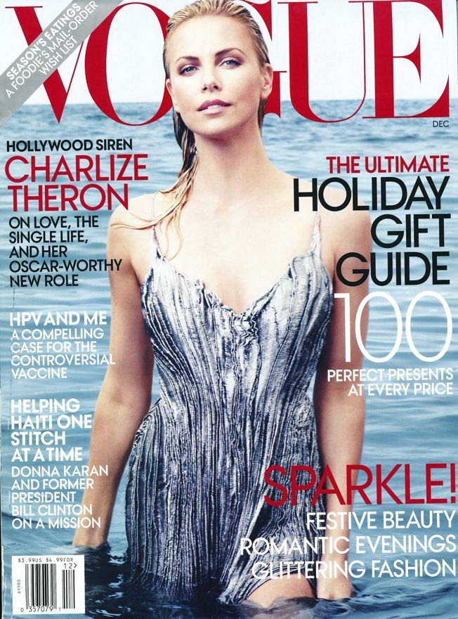 US Vogue, December 2012 (Charlize Theron)