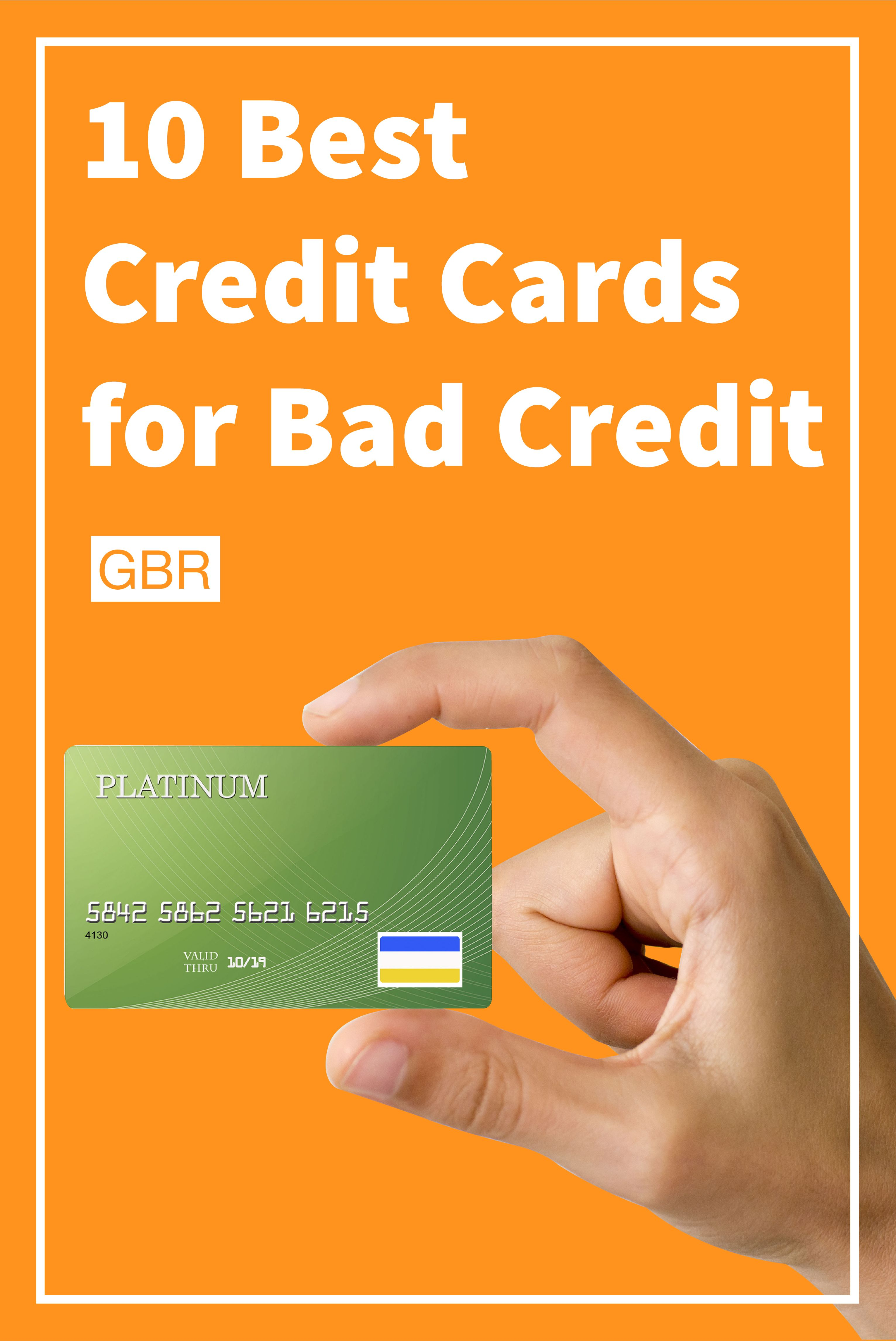 10 Best Credit Cards for Bad Credit Small business