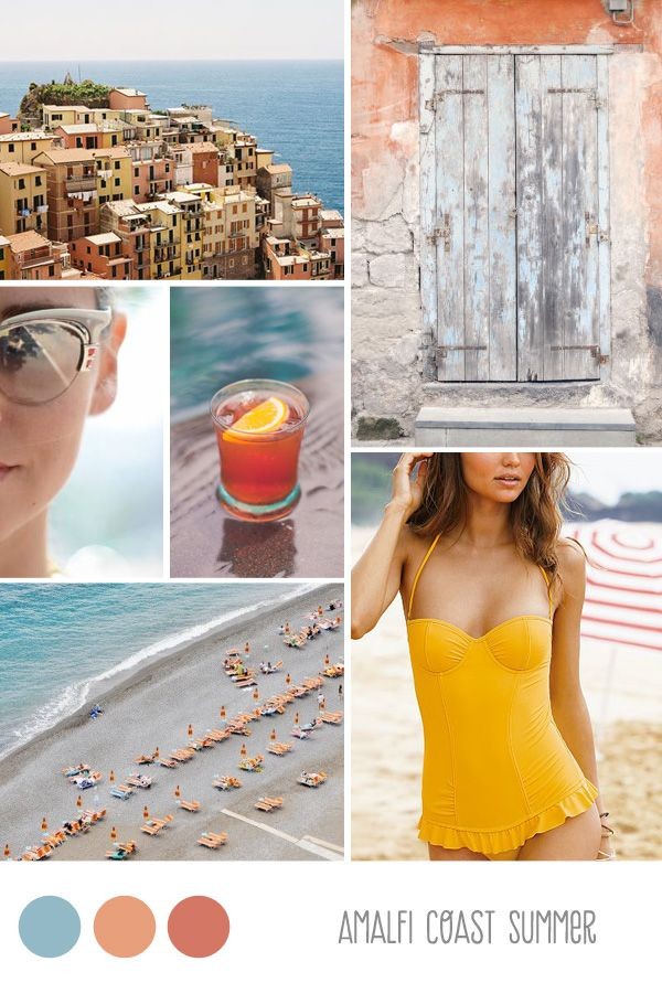 Inspiration Board: Amalfi Coast Summer - Belle & Chic