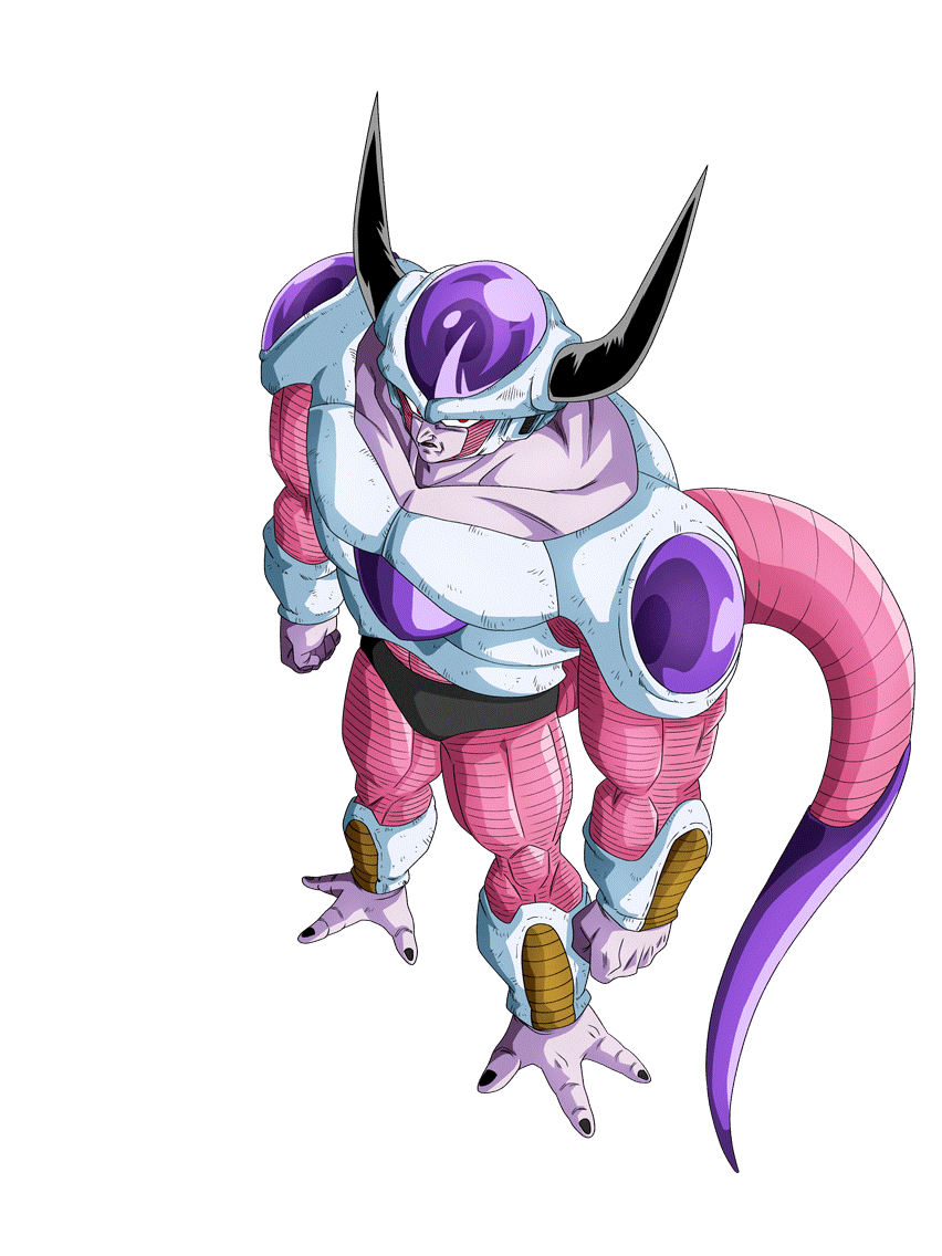 Frieza Second Form Render 2 Dokkan Battle By Maxiuchiha22 On Deviantart Frieza Dragon Ball Dbz Characters