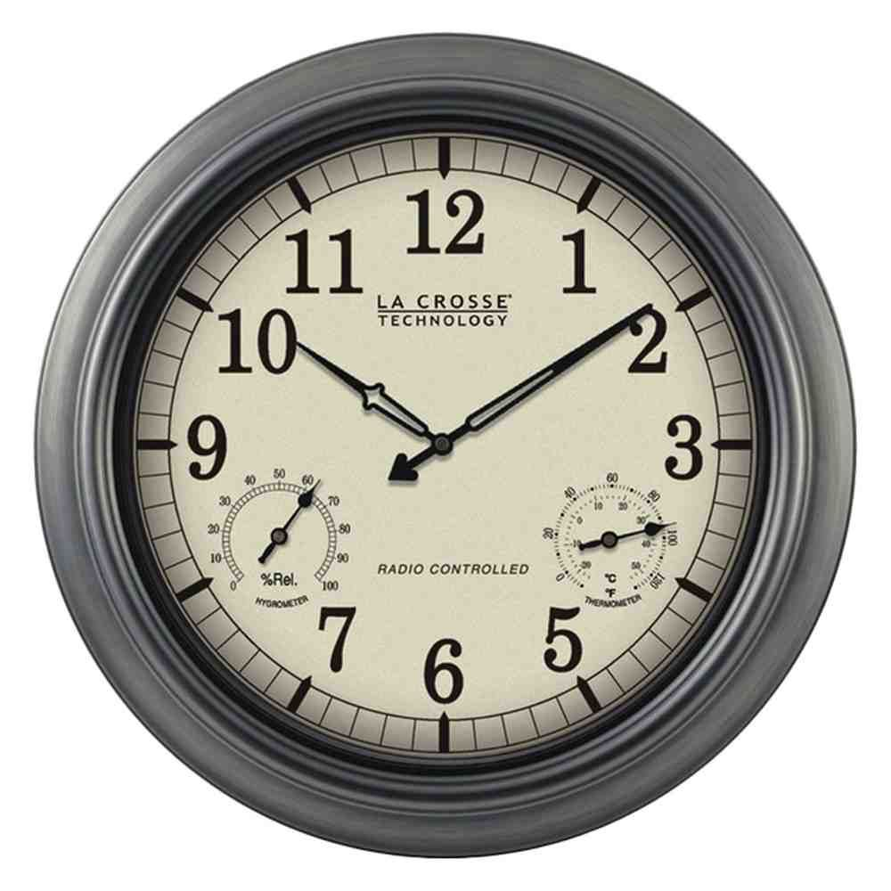 Atomic Wall Clock Reviews Atomic Wall Clock Wall Clock With Thermometer Wall Clock Analog