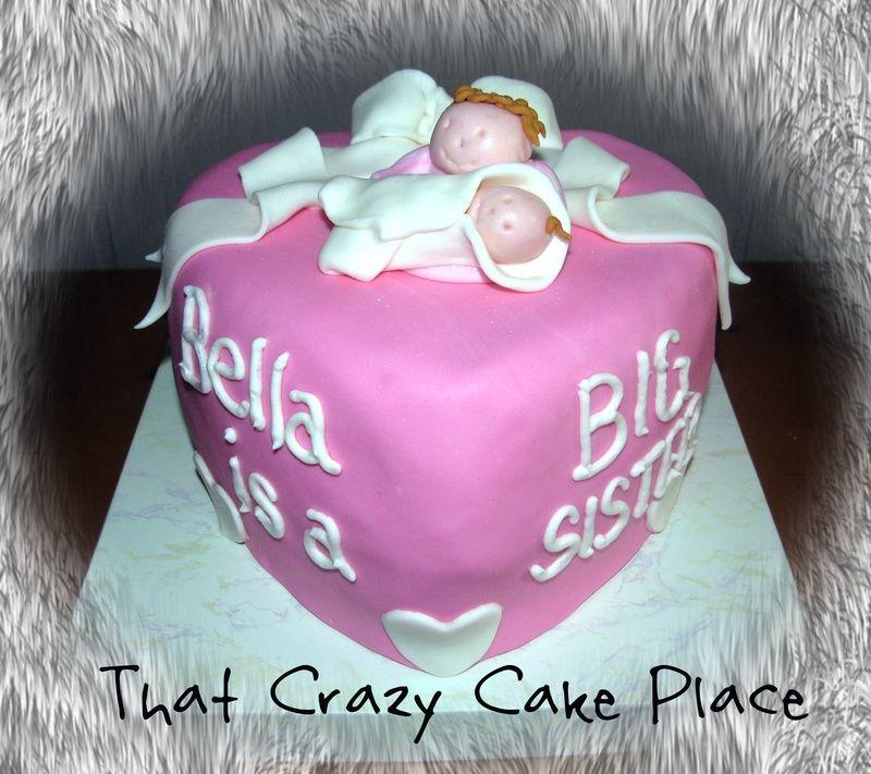 Cake Ideas For Big Sister At Baby Shower Baby Shower Custom
