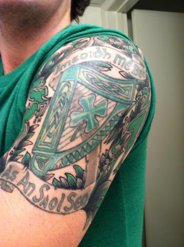 3ba806c16 Half Sleeve Celtic Tattoos   Tattoo inspiration   Tattoo sleeve ...