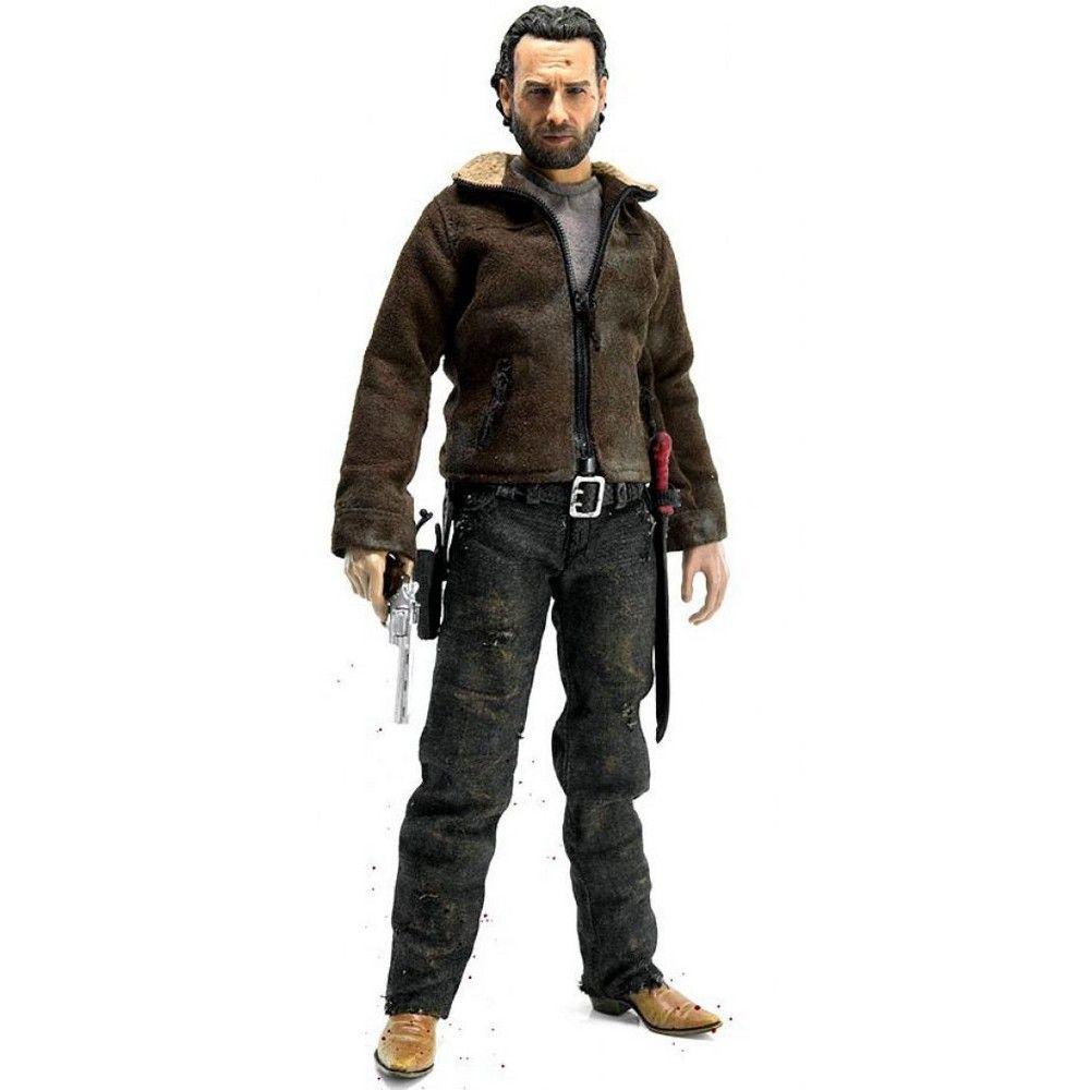 Three Zero The Walking Dead Figurine Rick Grimes 30 cm