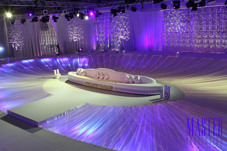 Arabic wedding stage design kosha wedding stage for Arabic wedding stage decoration