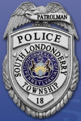 South Londonderry Pd Pa Fire Badge Police Badge Police