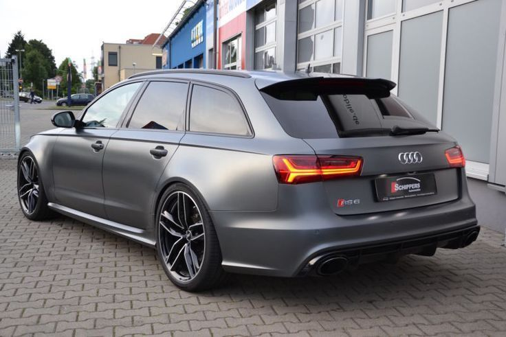 Audi RS6 Avant 4.0 TFSI performance DAYTONAMATT as Estate