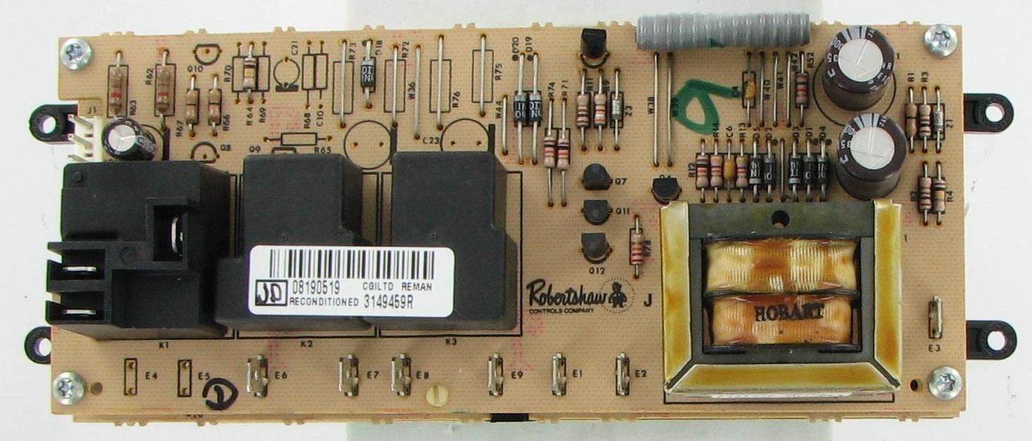 Whirlpool / Kitchenaid 3149459 Range/Stove/Oven Timer Board