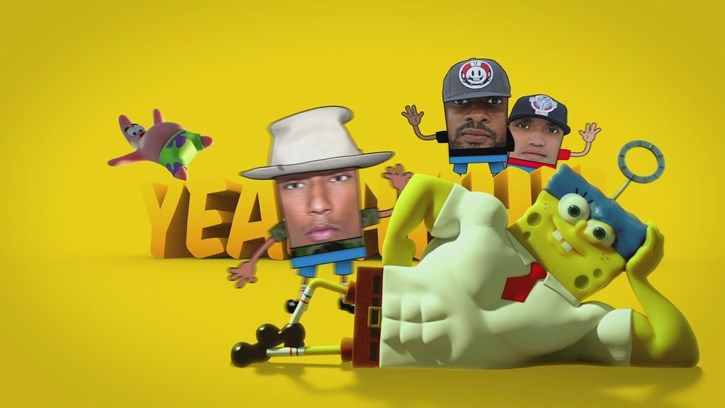 Watch the new music video of Squeeze Me from N*E*R*D. Then get the song here: http://smarturl.it/SpongeBobEP