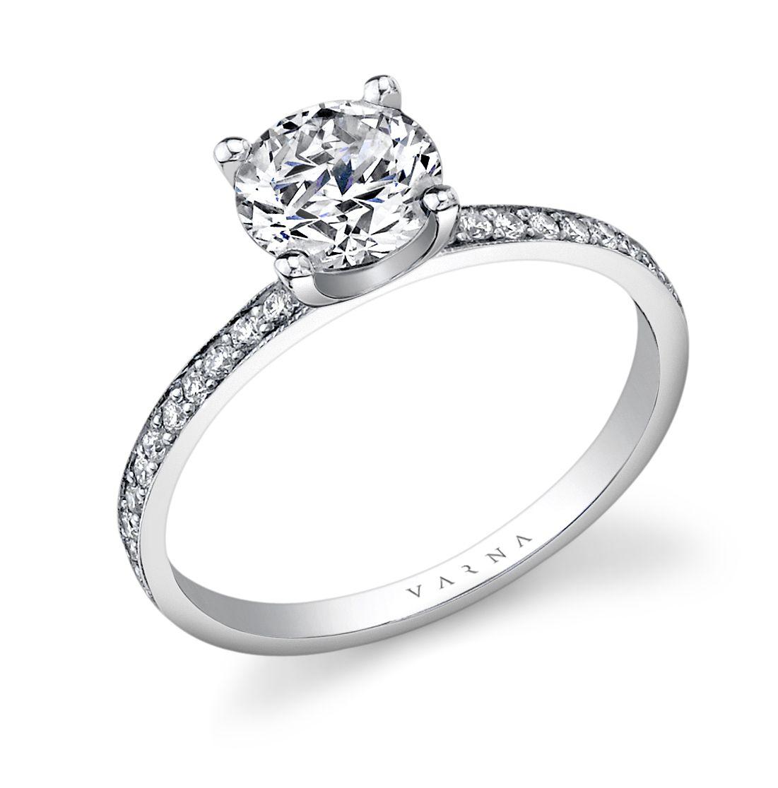 "Varna: ""Fit VF-1200"" Engagement Ring"