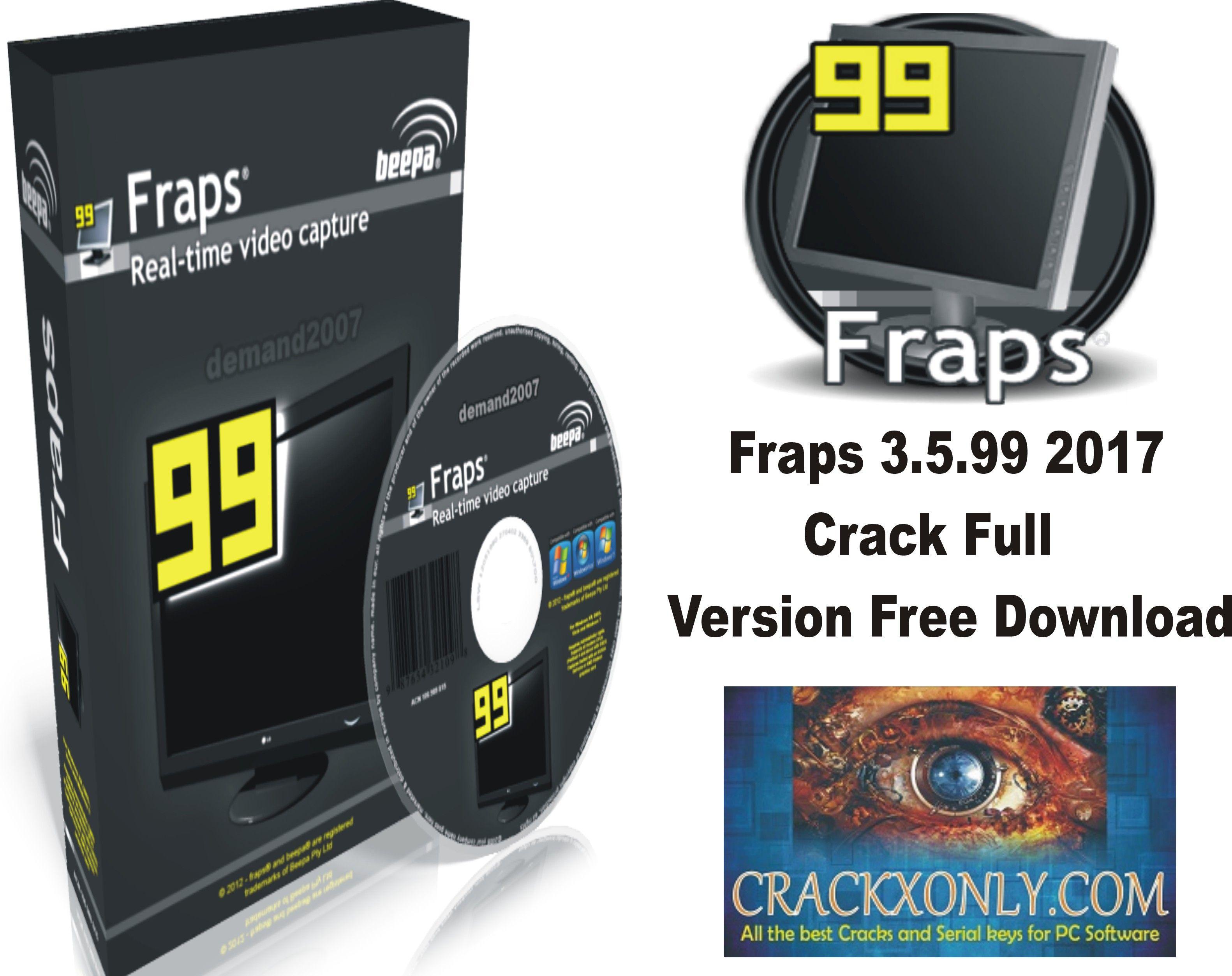 fraps 3 5 99 2017 crack full version free download fraps 3 5 99 2017