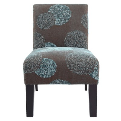 Deco Accent Chair Blue Sunflower With Images Blue Accent