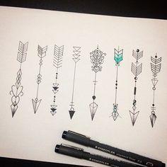 Tatoo- Flèches                                                                                                                                                      Plus