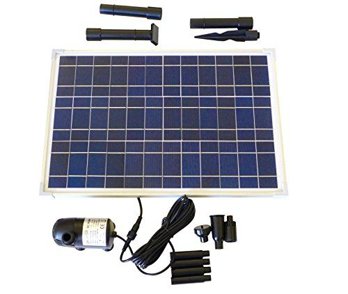 Solar Water Pump Kit 400 Gph With 12v Brushless Submersib Https Www Amazon Com Dp B01f4mkbbg Ref Cm Sw R Pi Dp Solar Fountain Solar Water Pump Pond Pumps