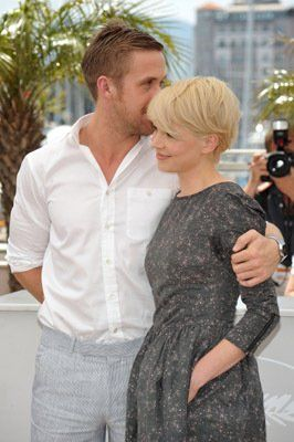 Actors Ryan Gosling and Michelle Williams attend the 'Blue Valentine' Photo Call held at the Palais des Festivals during the 63rd Annual International Cannes Film Festival on May 18, 2010 in Cannes, France.