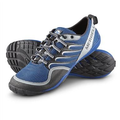 Barefoot Trail Glove Shoes, Blue