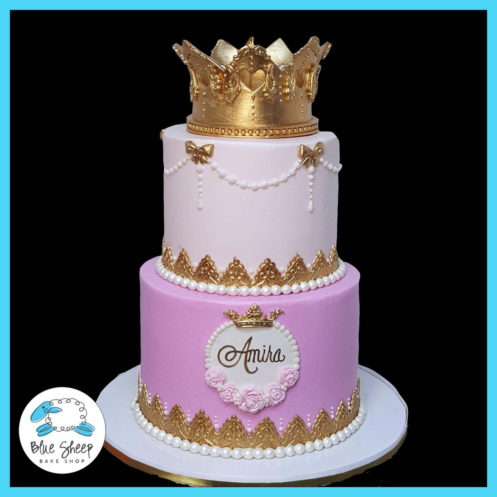 Amira S Princess 1st Birthday Cake 1st Birthday Princess 1st Birthday Cake Buttercream Wedding Cake