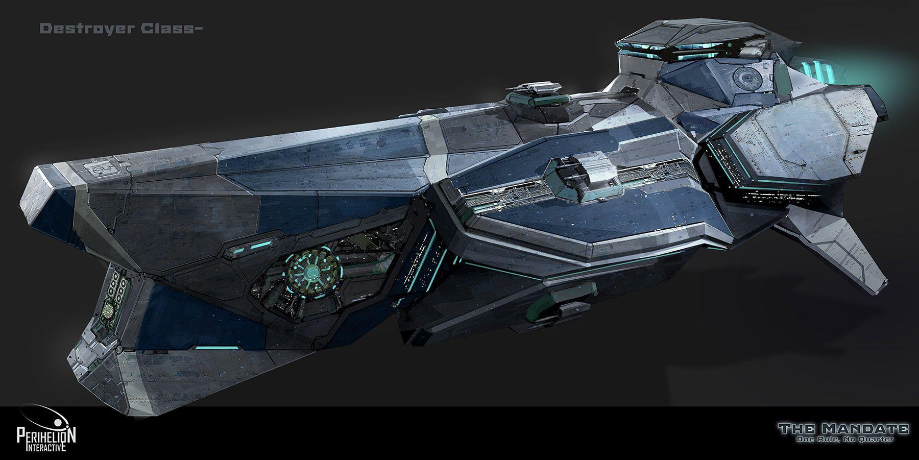 Concept Art Sci Fi Ships