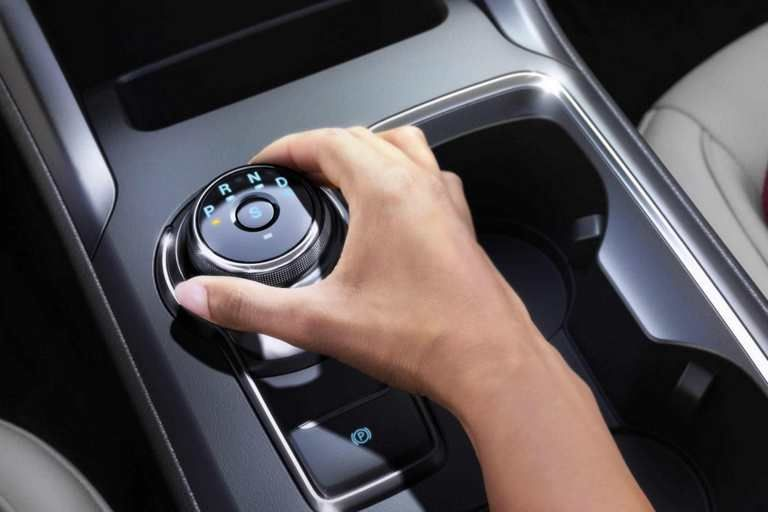 Standard Rotary Gear Shift Dial In The New 2018 Ford Fusion Ford