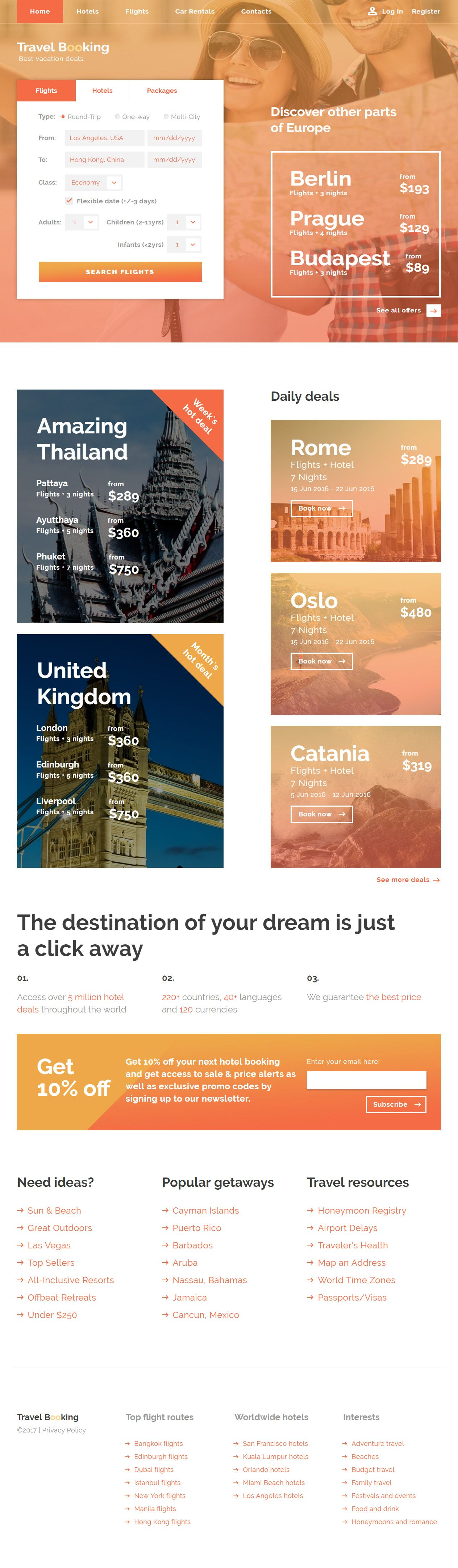 Travel Booking is Premium full Responsive #HTML5 Template. Bootstrap ...