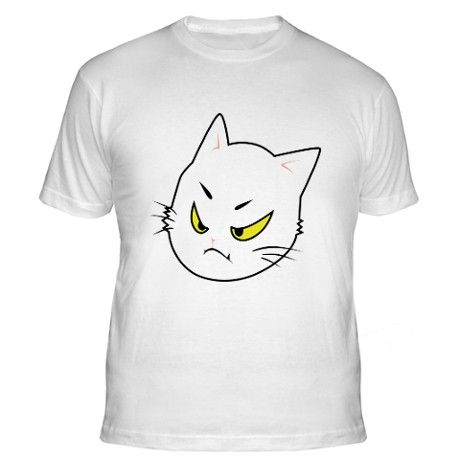 Nice Kitty - Fitted T-Shirt