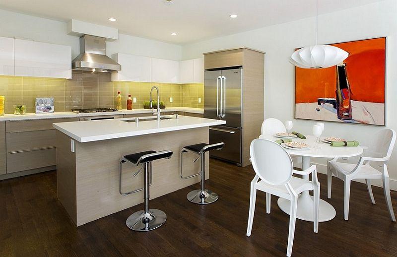 50 idee di colore paraschizzi per una stupenda cucina | Verde ...