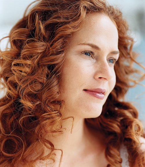 Tips for Getting Salon-Perfect Hair Color At Home | Curly red hair ...