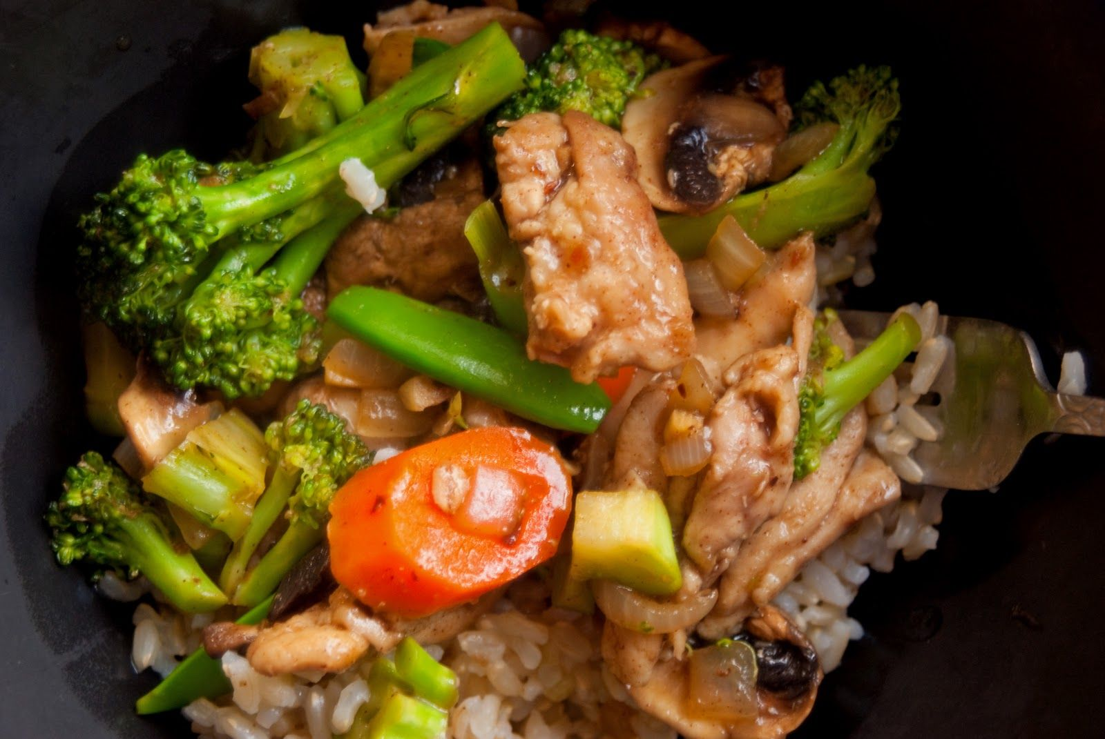 Cooking for Interstitial Cystitis Chinese Five Spice Stir