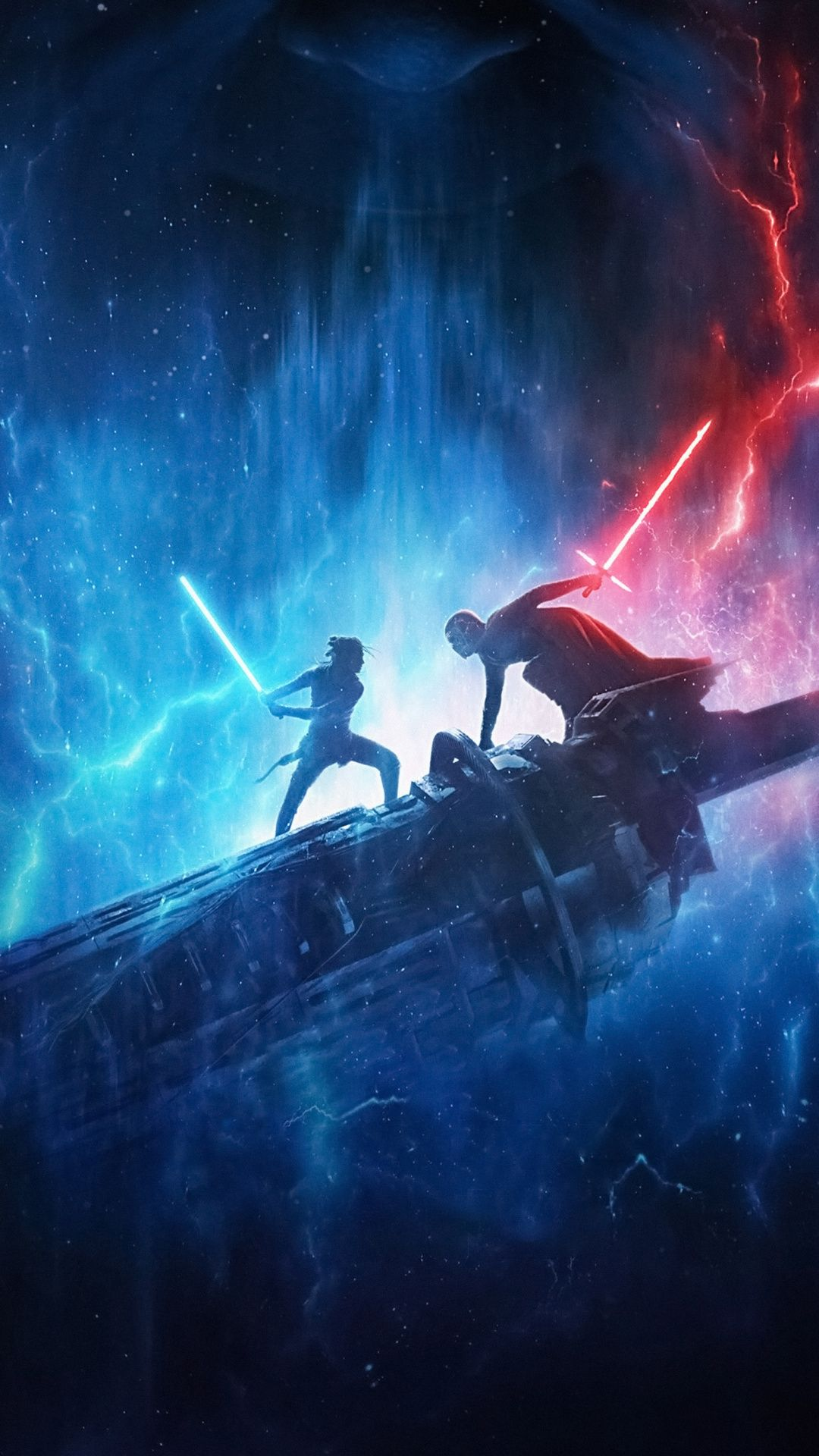 Download 1080x1920 wallpaper Star Wars The Rise of