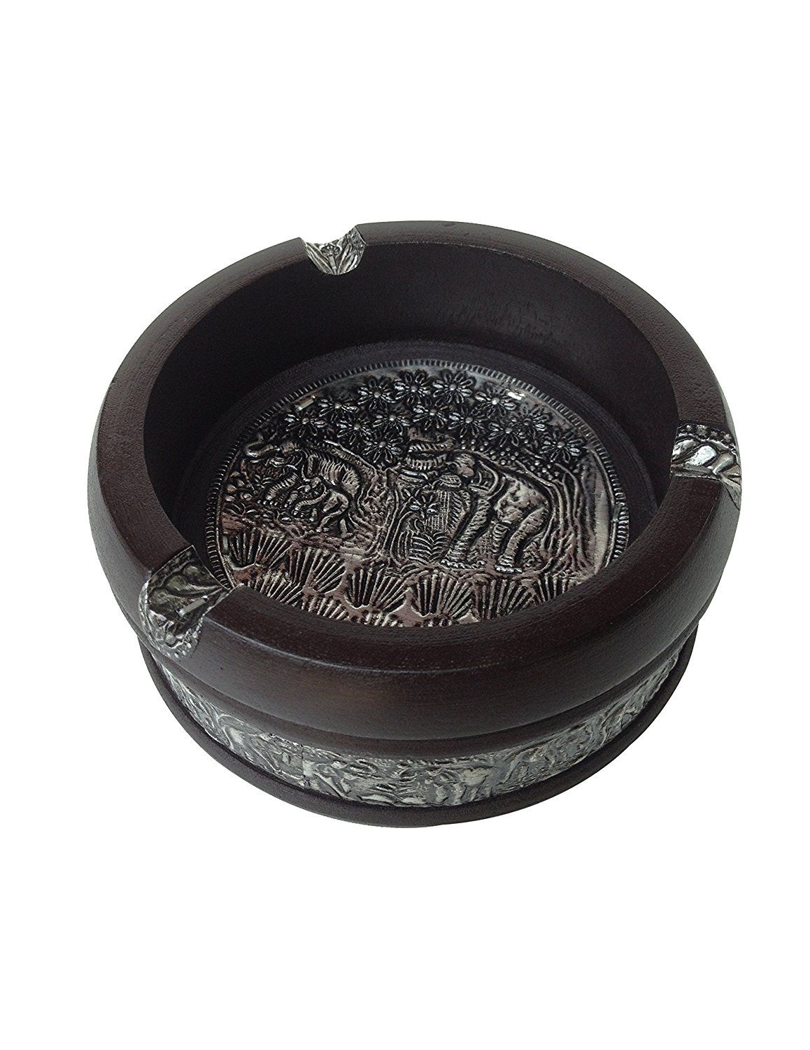 Rosti Mepal Ashtray with Lid Black