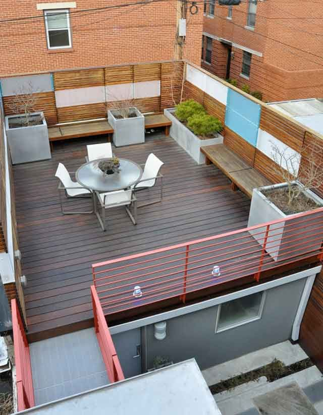 20 inspirational affordable rooftop garden design ideas