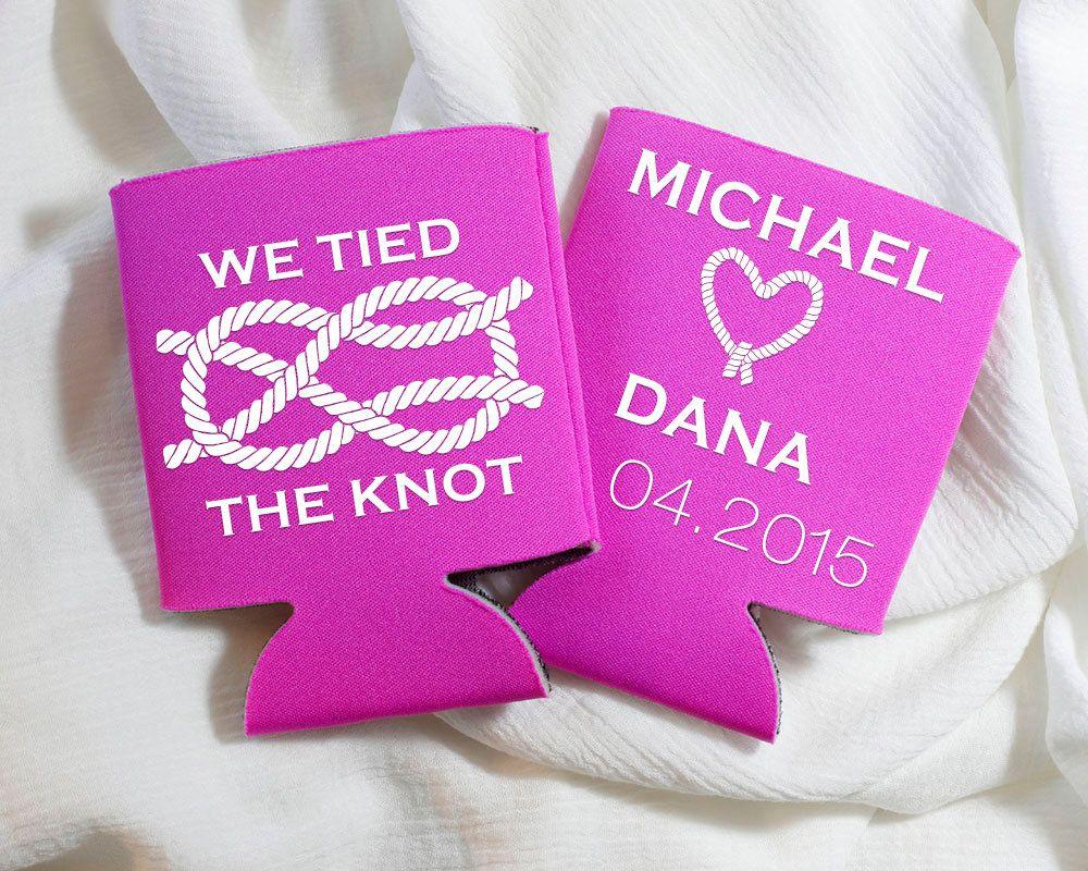 We Tied the Knot, Nautical Wedding Favors, Custom Wedding Shower ...