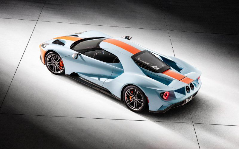 Ford Gt Heritage Edition Side View Sports Car Wallpaper