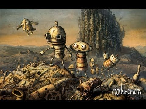 ▶ Machinarium - Official Trailer - YouTube
