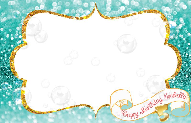 Personalized Paper Placemats Coloring Pages Mermaid Theme Party Table Setting Coloring Mermaid Ariel
