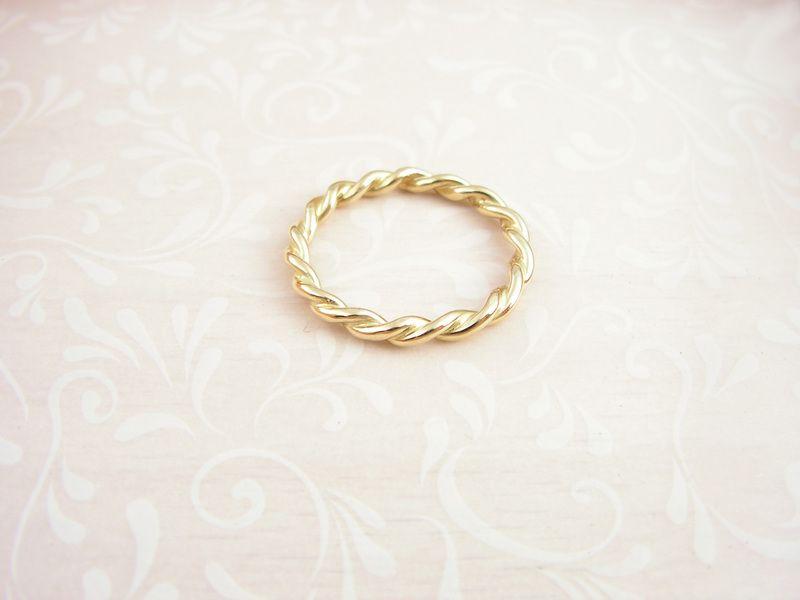 TWIST ,Kordelring Gold 585 | Verlobung und hochzeit, Schmuck ringe ...