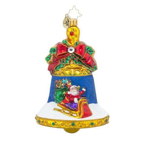 Christopher Radko Ornaments Radko Holiday Ringtones Bells Santa