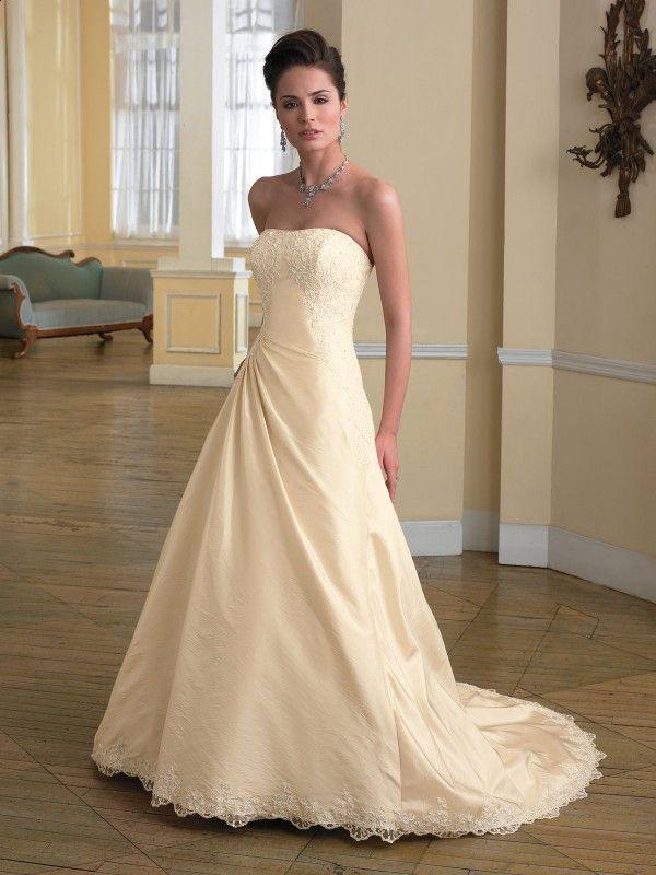 Champagne Wedding Dress Fall 2010