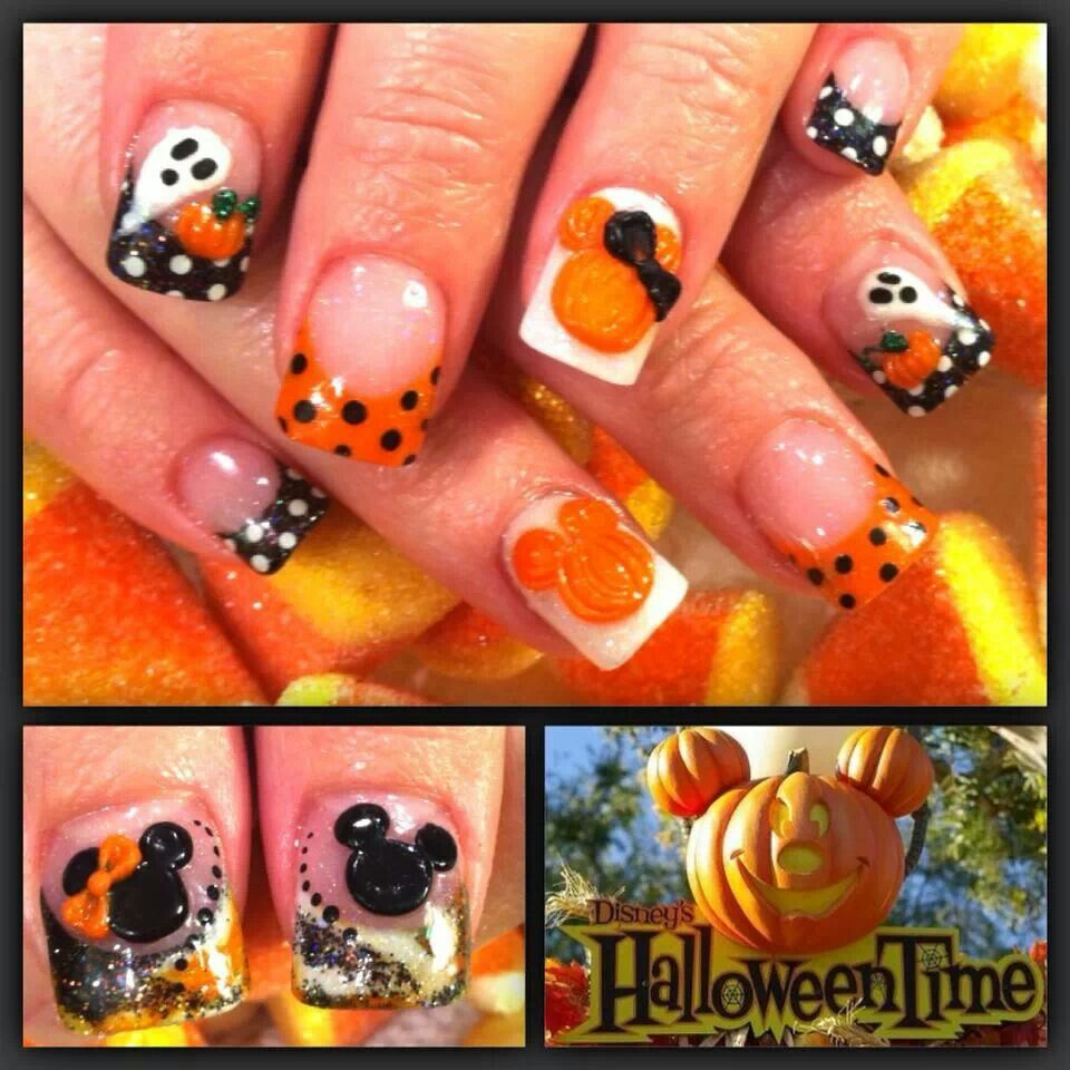 Disney Halloween nails | Nails & Hair | Disney nail ...