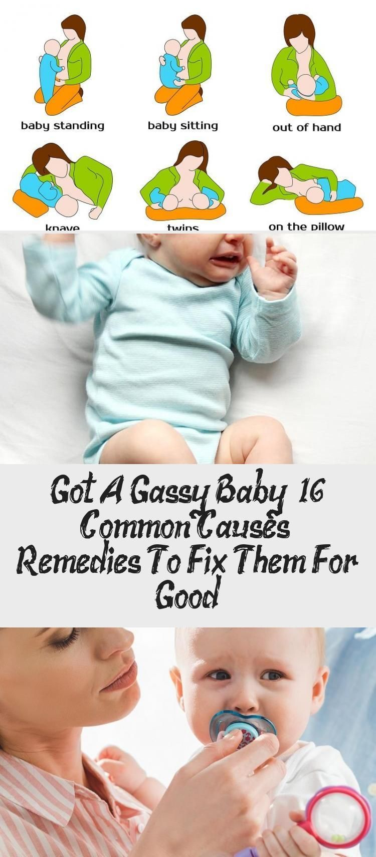 Do you have a Gassy baby? 16 common causes and remedies to solve them forever - health and fitness d...