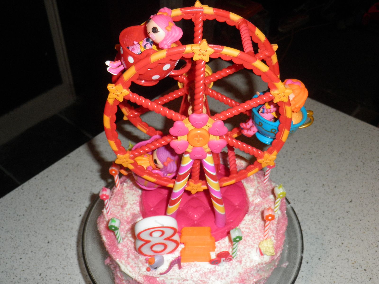 Homemade Lalaloopsy Ferris Wheel Cake Bergens 10th Pinterest