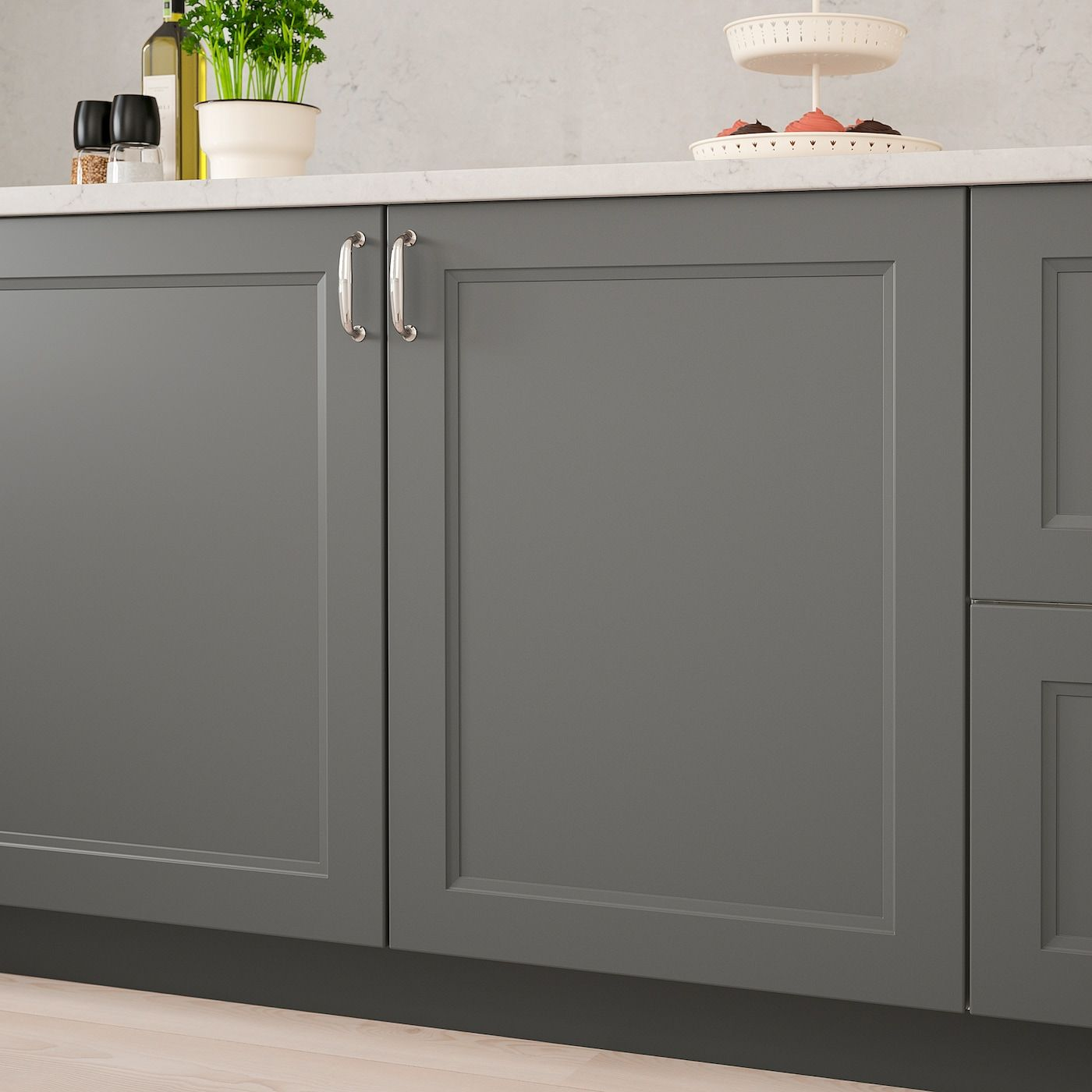 "AXSTAD Door, dark gray, 15x15"" IKEA in 2020 Dark grey"